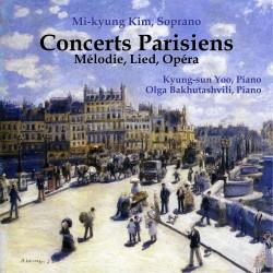 Concerts Parisiens : Mélodie, Lied, Opéra