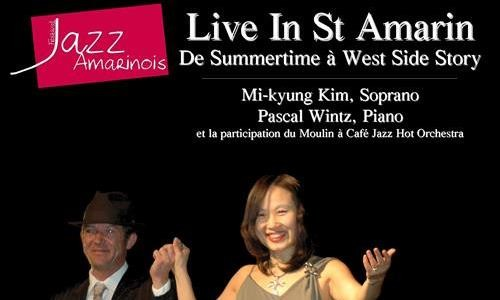 Live in St Amarin : De Summertime à West Side Story